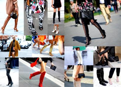 """""""Thigh High Boots"""", las Botas de Caña Alta que todas calzan - Shopping Tendencias"""