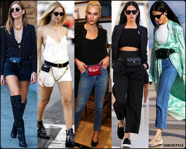 fanny pack, belt bag, riñonera, spring 2018, it bag, trend, chiara ferragni, looks, style, runway, streetstyle, shopping, tendencia, bolsos