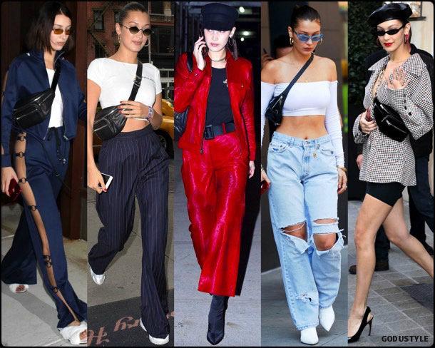 fanny pack, belt bag, riñonera, spring 2018, it bag, trend, bella hadid, looks, style, runway, streetstyle, shopping, tendencia, bolsos