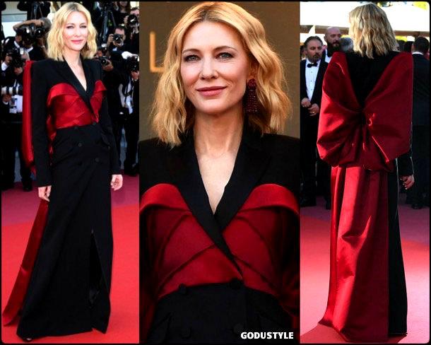 cate blanchett, tuxedo, dress, tuxedo dress, vestido tuxedo, fashion, moda, trend, tendencias, look, shopping, party look