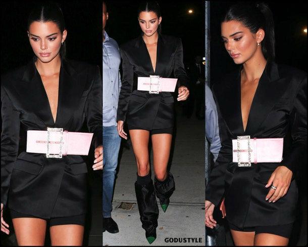 kendall jenner, tuxedo dress, vestido tuxedo, trend, tendencia, vestido fiesta, party dress, shopping, look, style