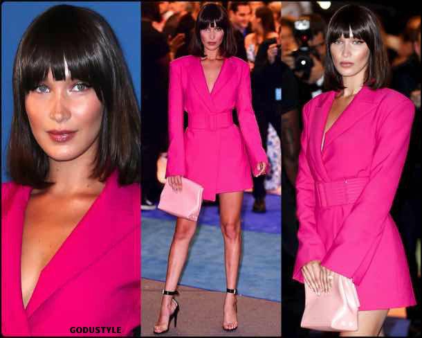 bella hadid, vestido tuxedo, trend, tendencia, vestido fiesta, party dress, shopping, look, style