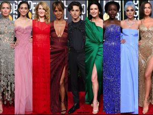 golden globes, party, looks 2019, red carpets, looks, beauty, style, details, fashion, globos oro