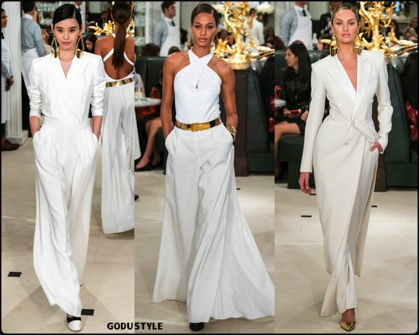ralph lauren, fall 2019, invierno 2020, collection, nyfw, look, style, details, shoes, accessories, beauty, review, colección
