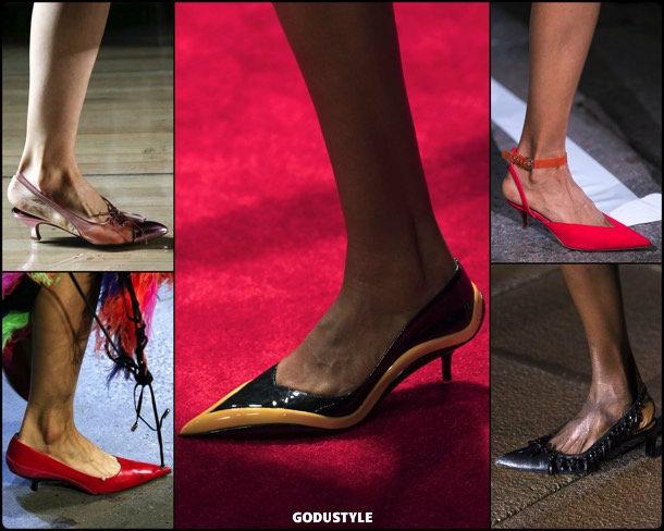 kitten heels, shoes, summer 2019, zapatos, verano 2019, trends, tendencias, zapatos moda, fashion shoes, runway