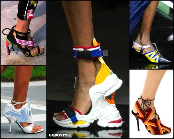 sporty, neopreno, shoes, summer 2019, zapatos, verano 2019, trends, tendencias, zapatos moda, fashion shoes, runway
